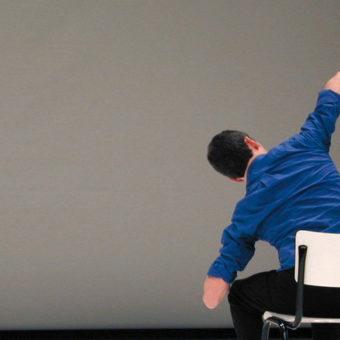 Performance de Xavier Le Roy, Photographie de Katrin Schoof